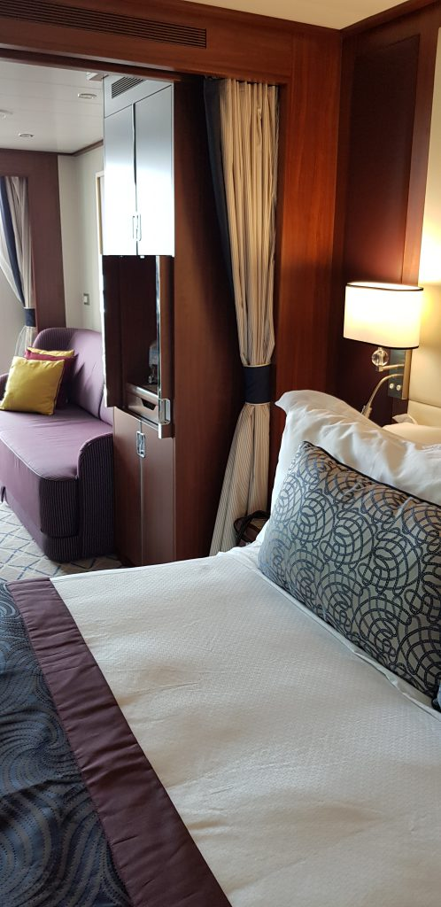 cabin on cruise ship