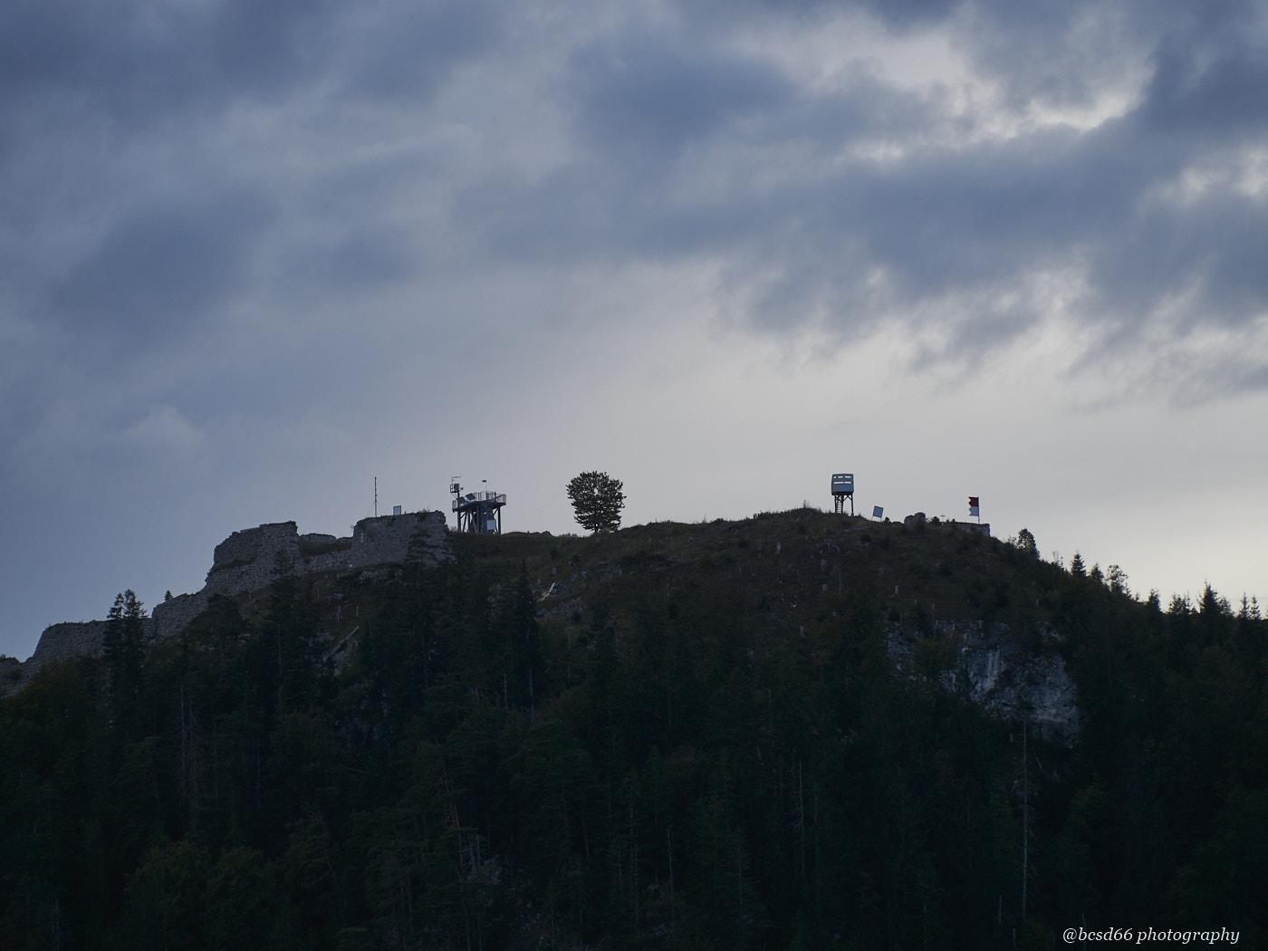 top of mountain Schlosskopf