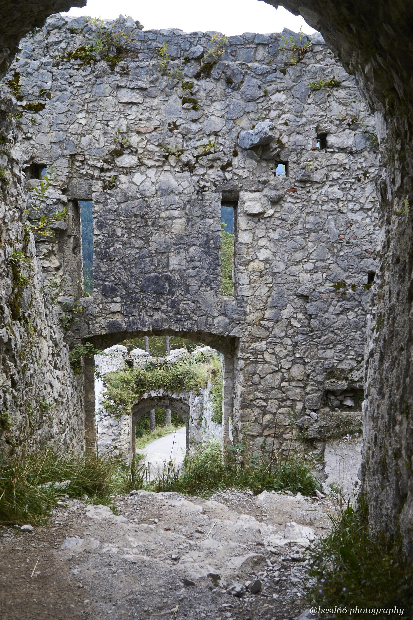 ruins Castle Ehrenberg