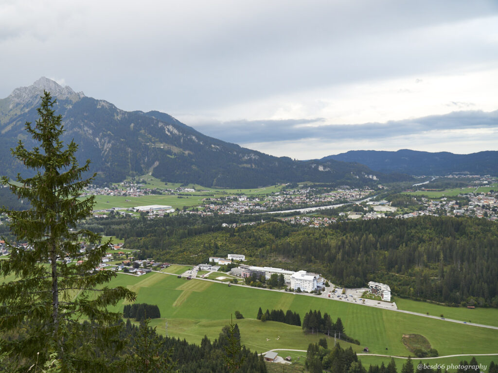 view over Reutte