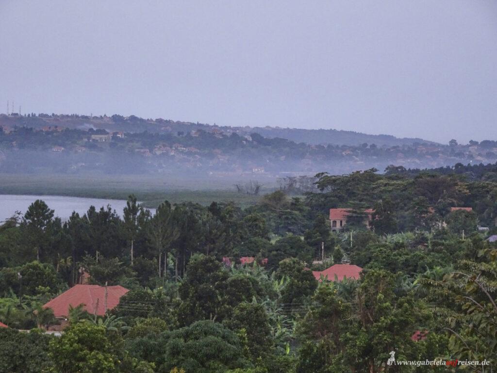 landscape at Lake Victoria